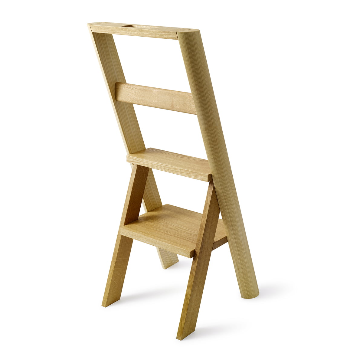 The Auerberg   Stepladder Clothes Valet, Ash / Oak