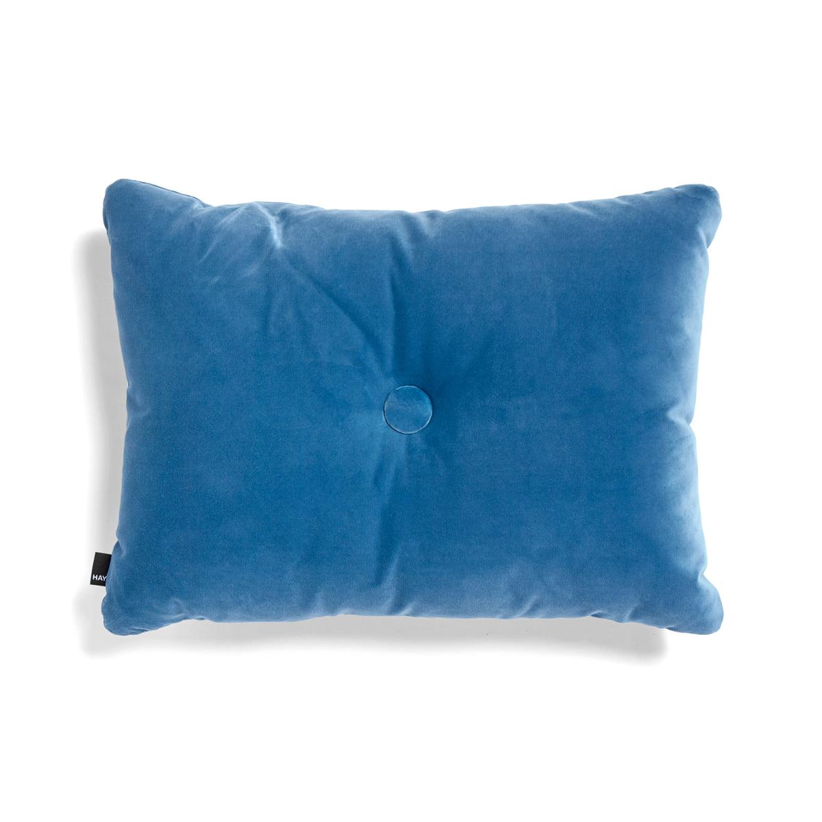 Hay   Dot Soft Cushion, 45 X 60 Cm, Blue
