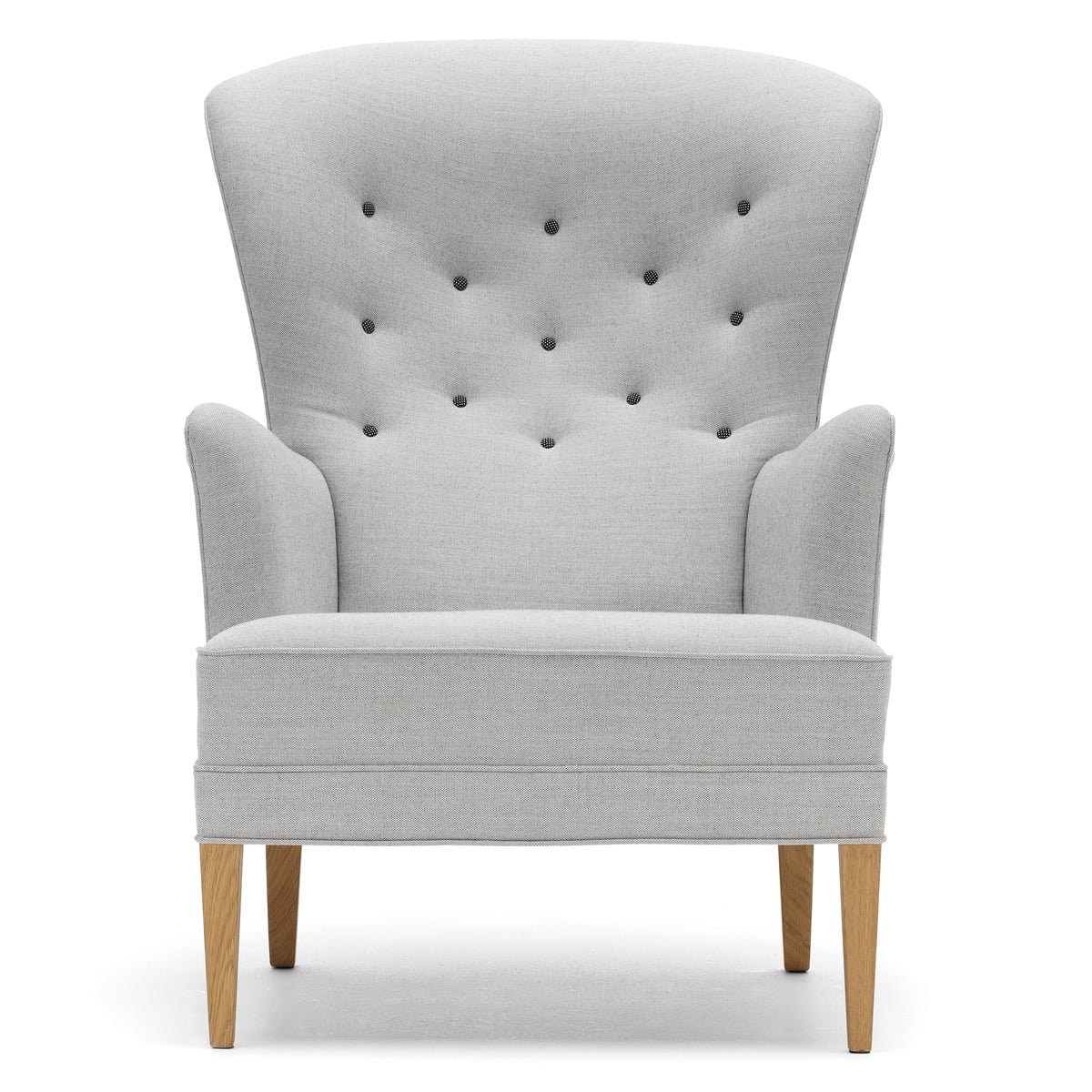 Wondrous Carl Hansen Fh419 Heritage Chair Oiled Oak Light Grey Canvas 124 Hallingdal 126 Buttons Pdpeps Interior Chair Design Pdpepsorg