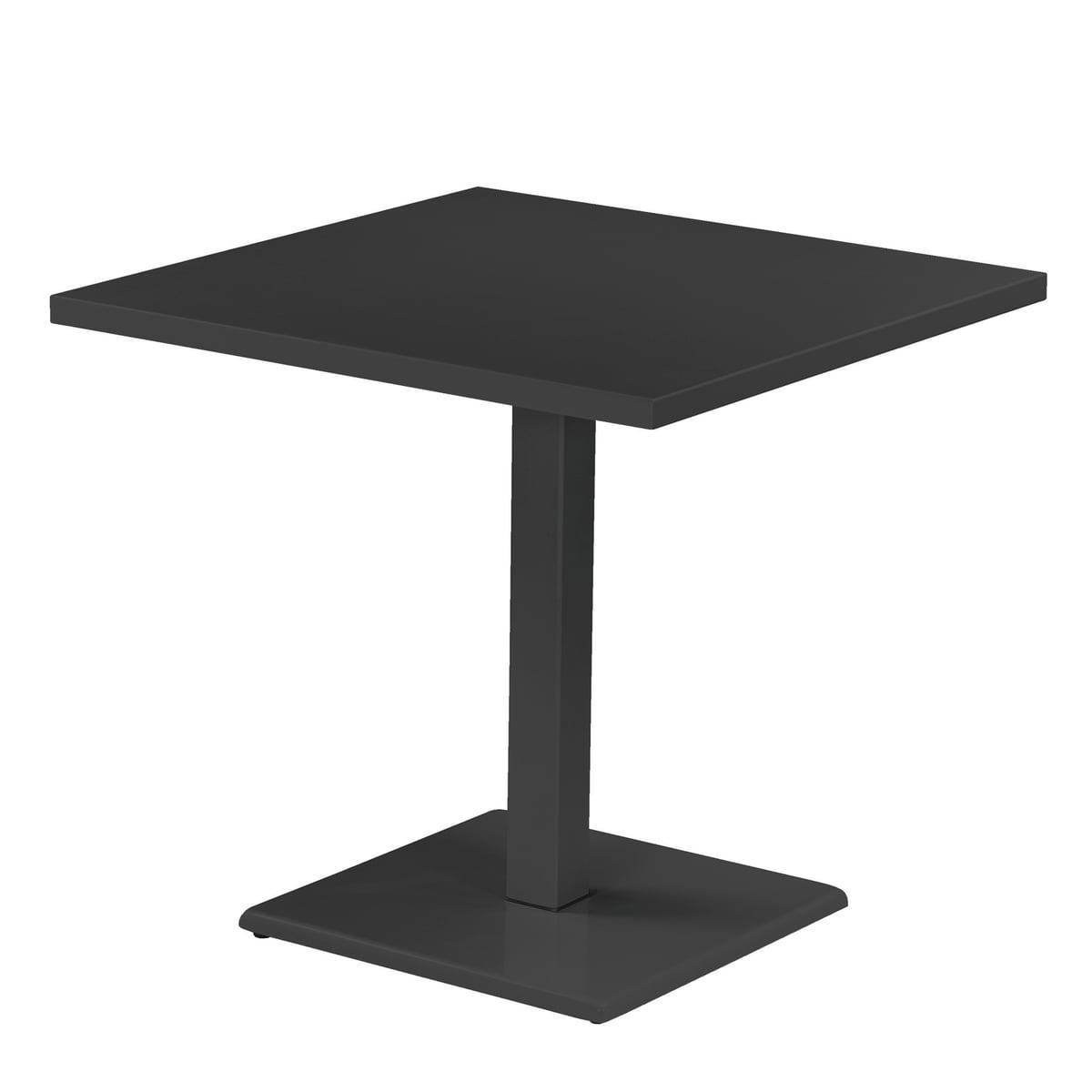 Der Emu   Round Table H 75 Cm, 80 X 80 Cm, Antique Iron Design Ideas