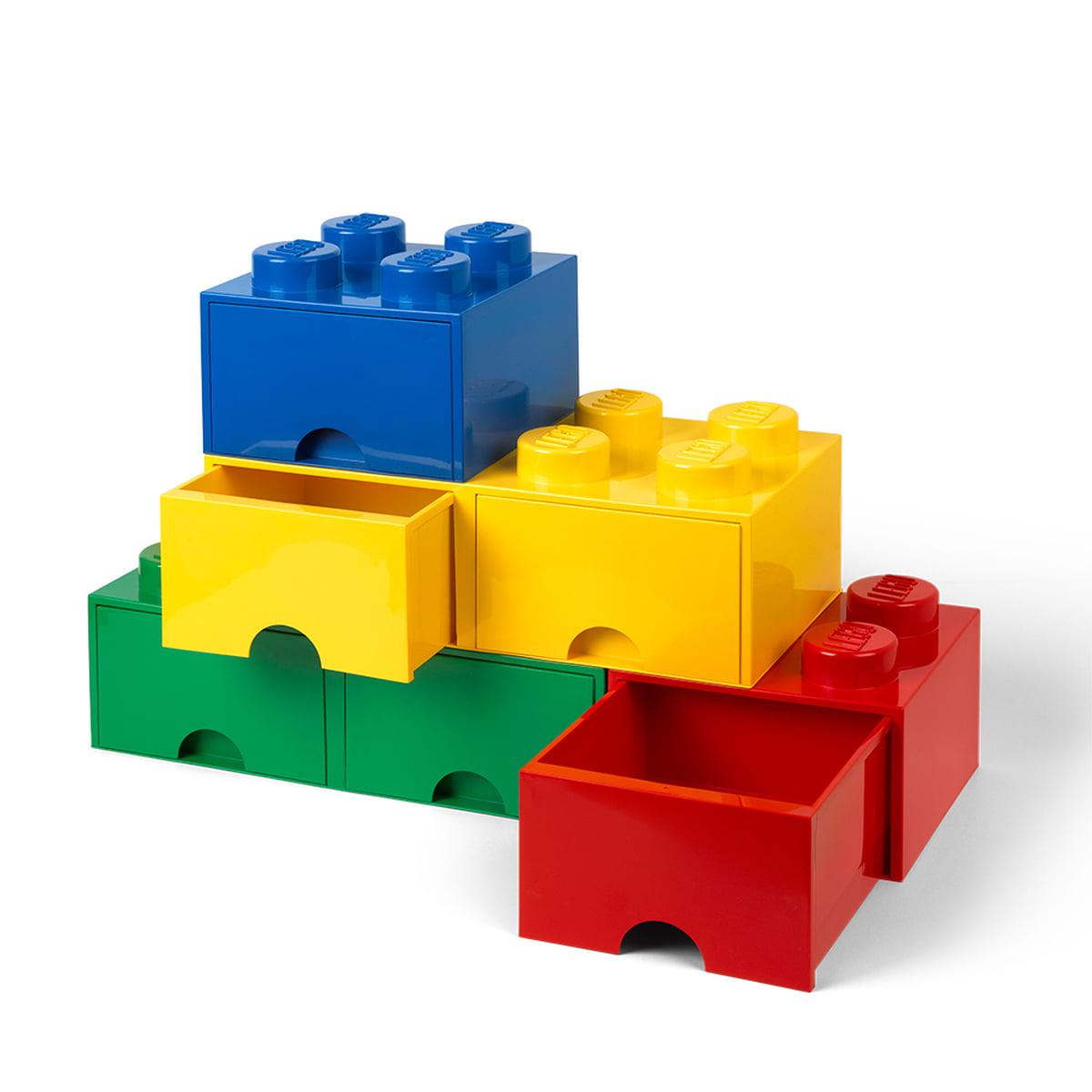 brick drawer 8 by lego connox. Black Bedroom Furniture Sets. Home Design Ideas