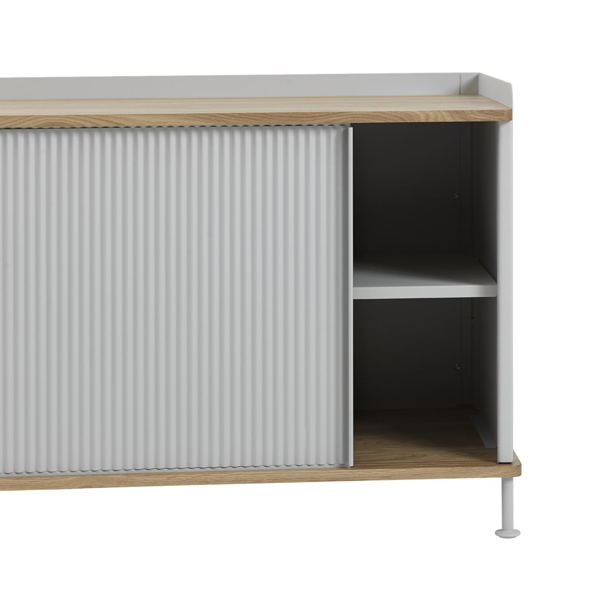 Enfold sideboard by muuto connox for Sideboard niedrig