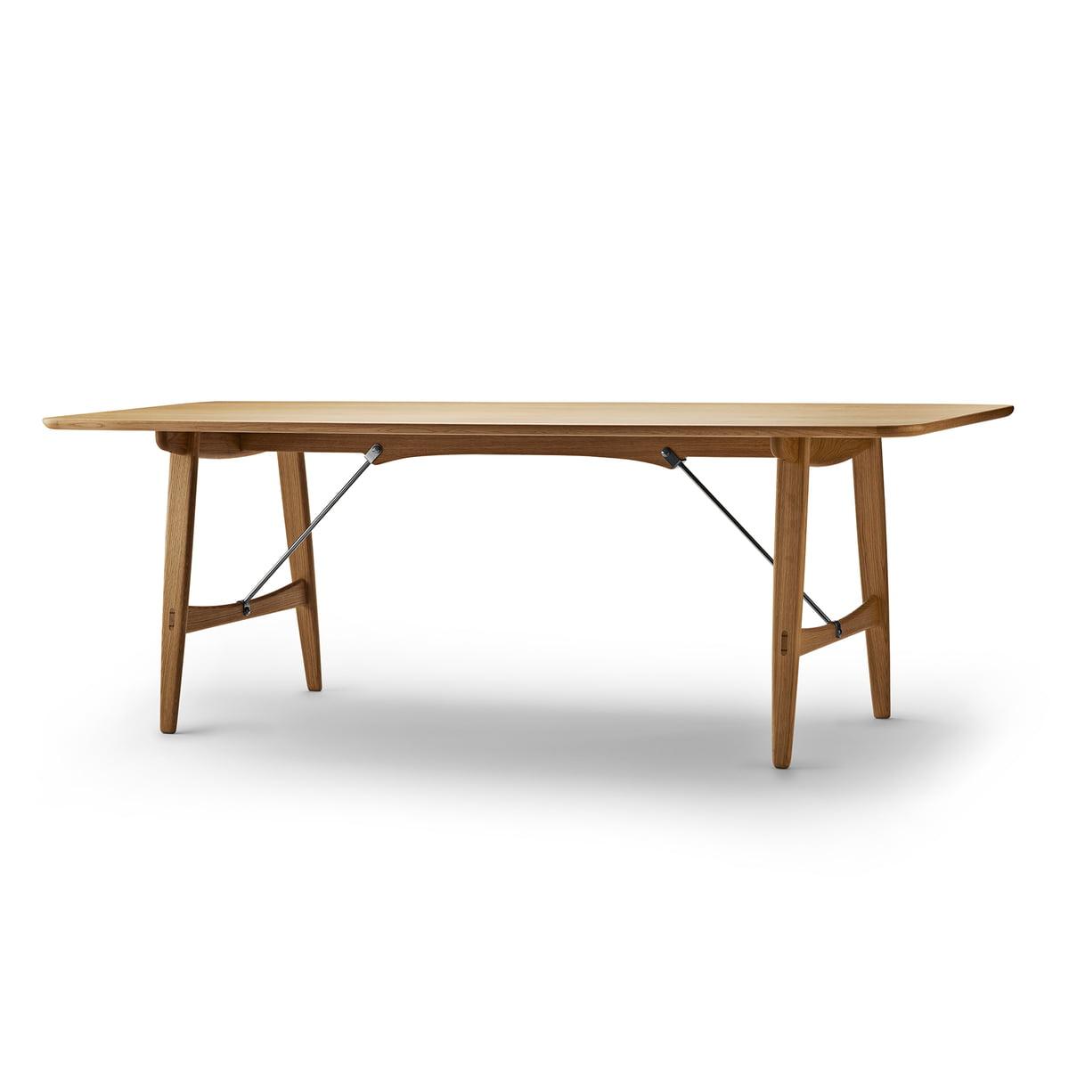 Carl Hansen Bm1160 Hunting Dining Table 210 X 82 Cm Oiled Oak
