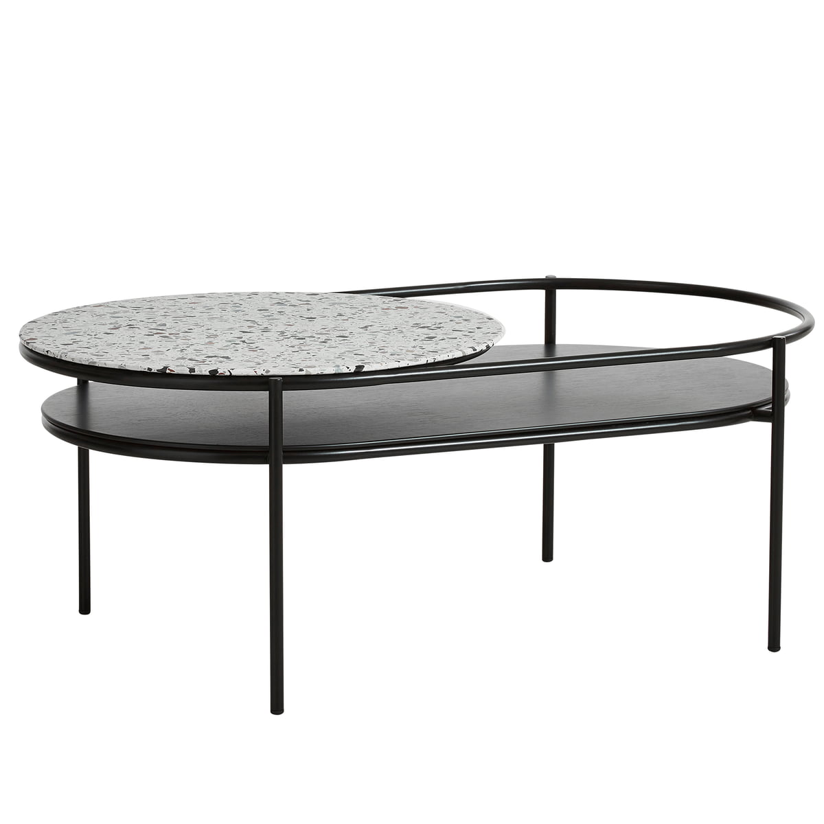 the latest 90b79 d4b61 Woud - Verde coffee table, terrazzo white