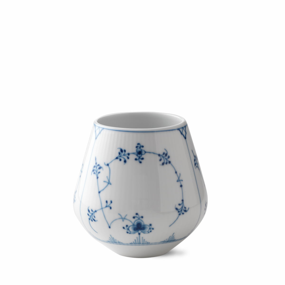 royal copenhagen musselmalet vase