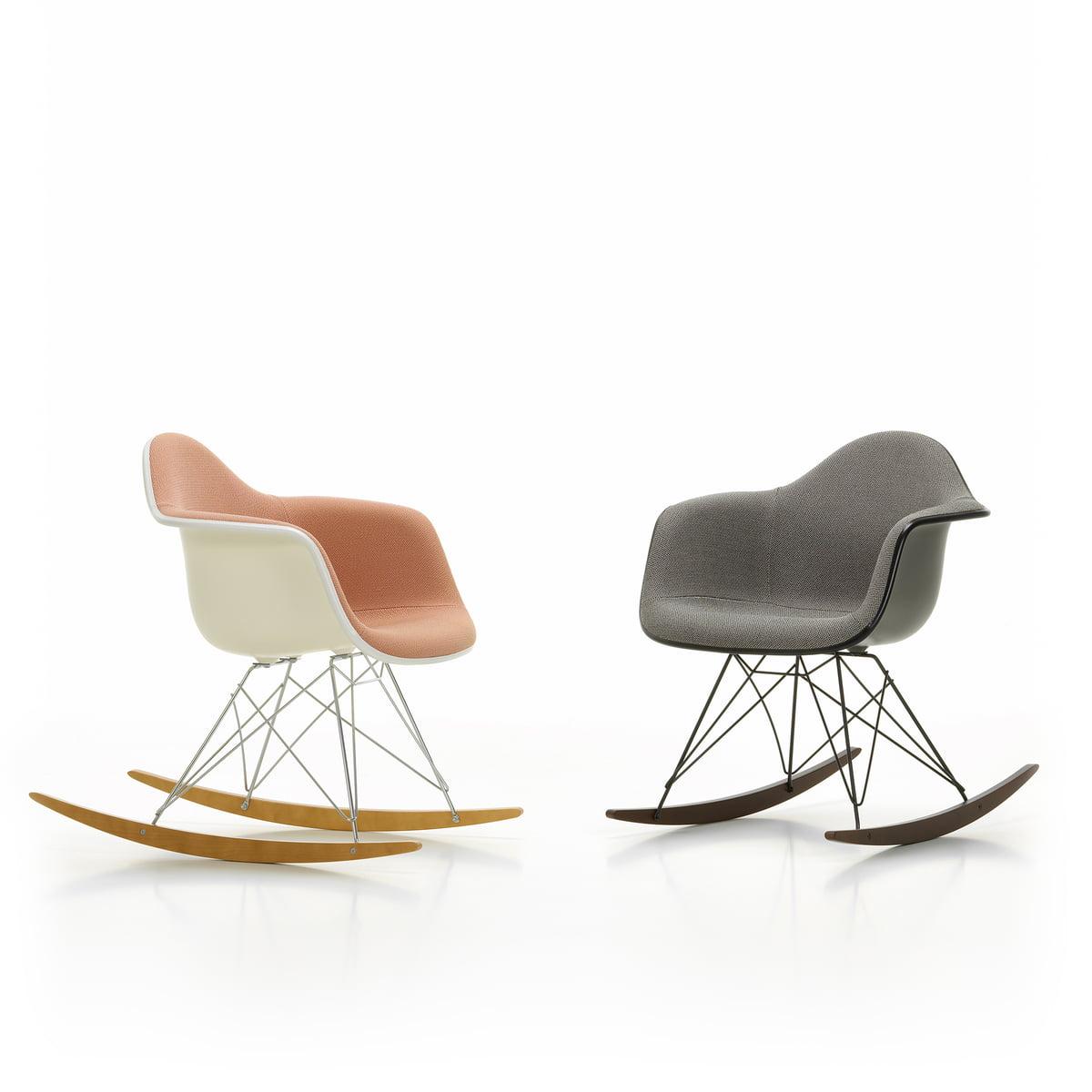 Vitra - Eames plastic armchair rar (padded) | Connox