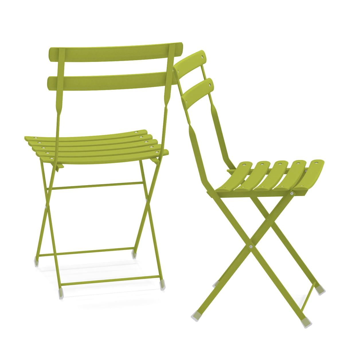 Marvelous Emu Arc En Ciel Folding Chair Antique Iron Squirreltailoven Fun Painted Chair Ideas Images Squirreltailovenorg