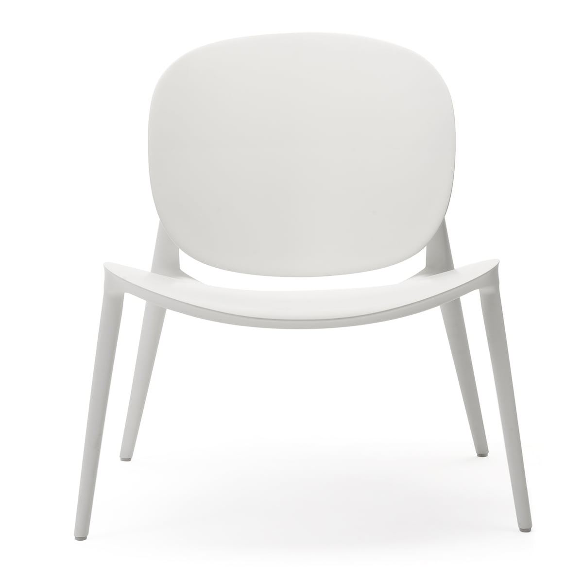 Magnificent Kartell Be Bop Armchair White Matt Inzonedesignstudio Interior Chair Design Inzonedesignstudiocom