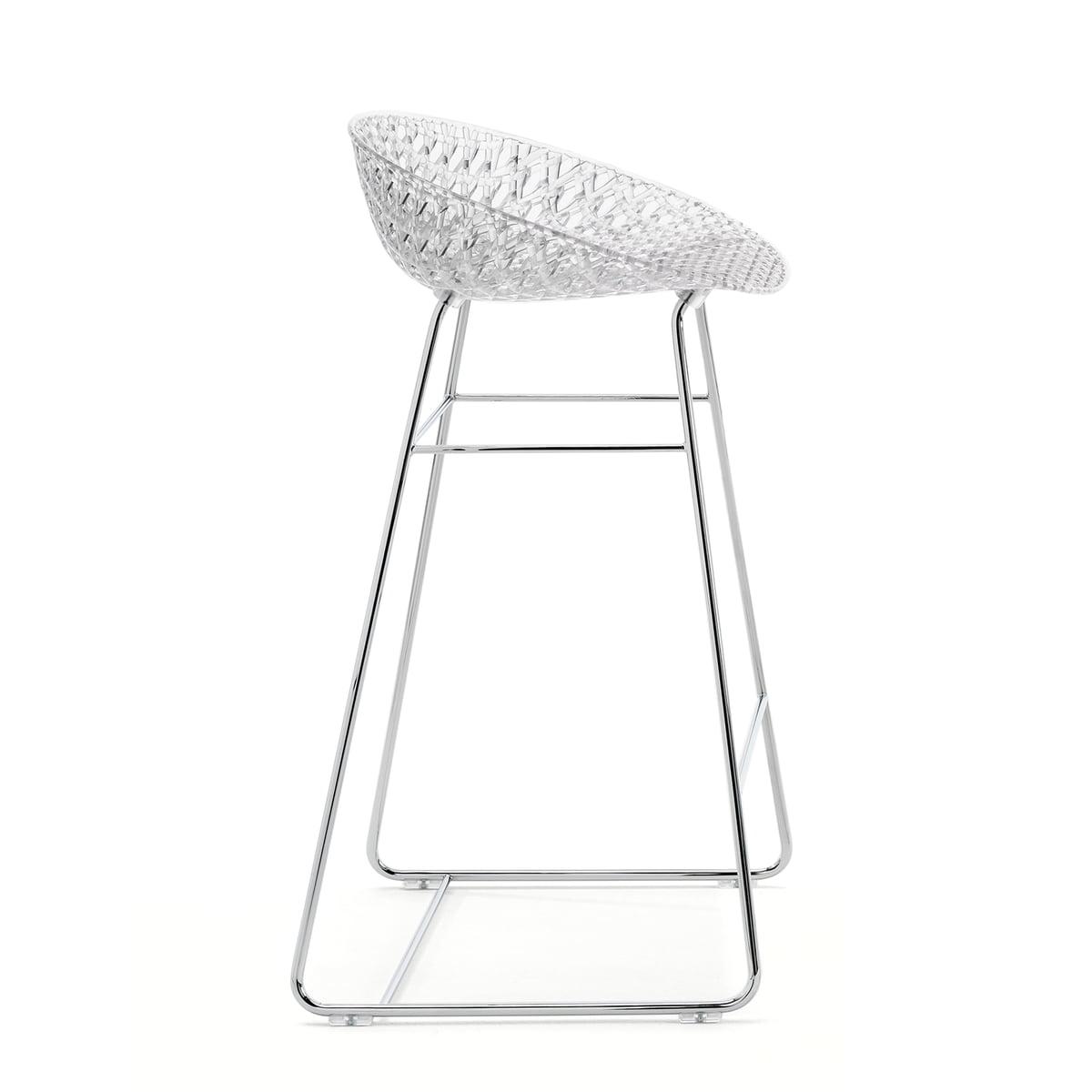 Remarkable Kartell Smatrik Bar Stool Chrome Plated Crystal Uwap Interior Chair Design Uwaporg