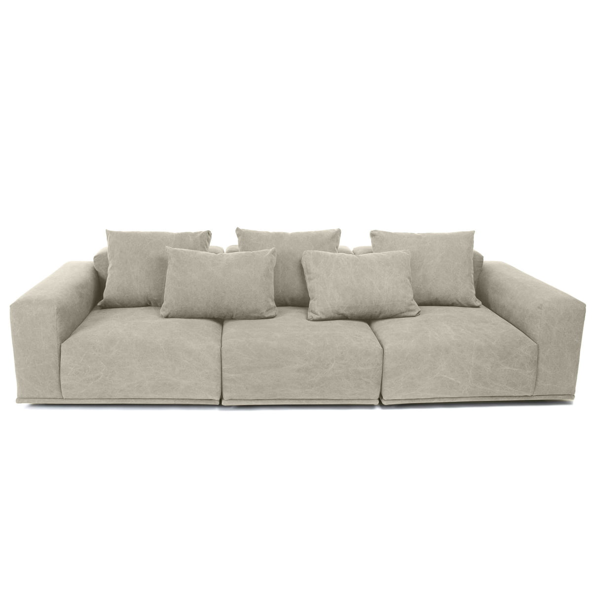 Outstanding Norr11 Madonna Sofa 3 Seater Incl Cushion Washed Beige 05 Onthecornerstone Fun Painted Chair Ideas Images Onthecornerstoneorg