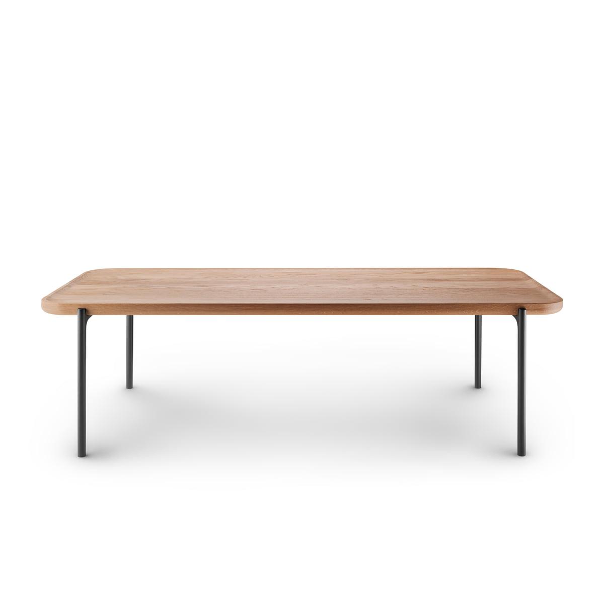 Groovy Eva Solo Savoye Coffee Table 120 X 50 Cm Oak Natural Black Beatyapartments Chair Design Images Beatyapartmentscom