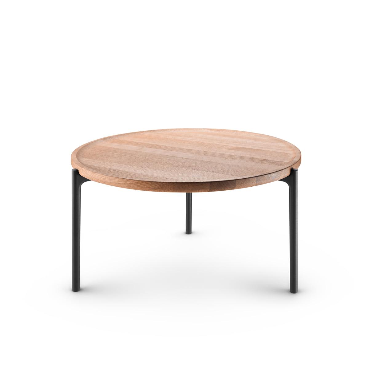 Tremendous Eva Solo Savoye Coffee Table O 60 Cm Oak Natural Black Andrewgaddart Wooden Chair Designs For Living Room Andrewgaddartcom