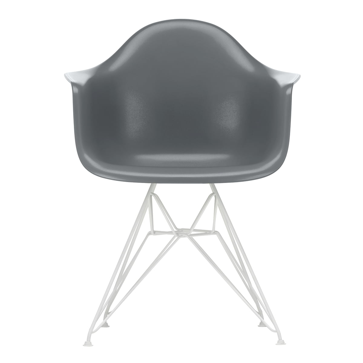 Vitra - Eames plastic armchair dar | Connox