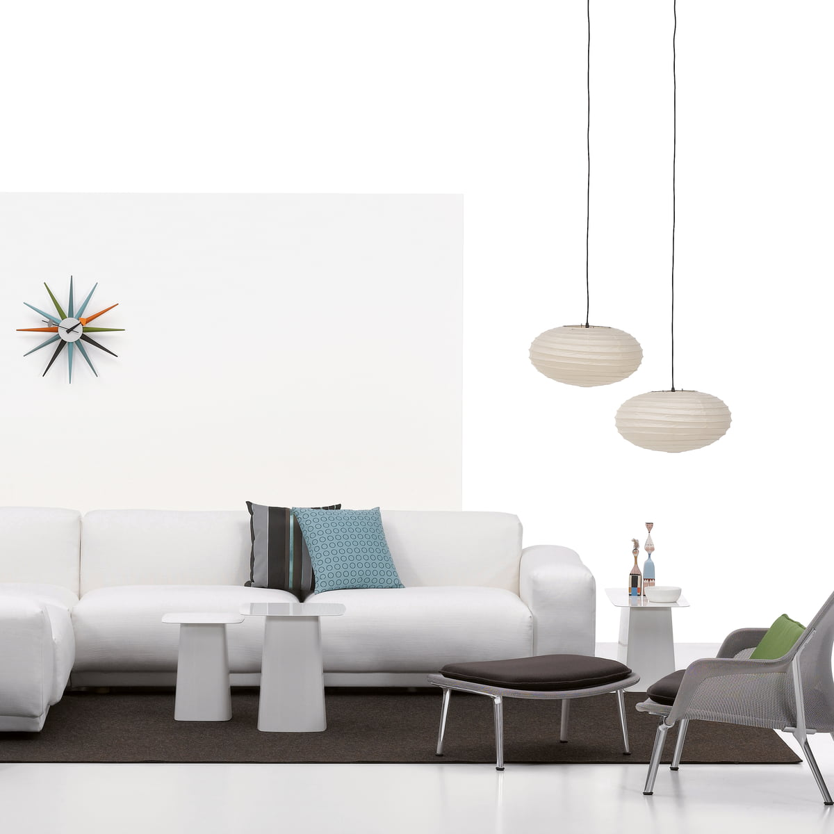 Sunburst clock by vitra in the shop for Boutique vitra