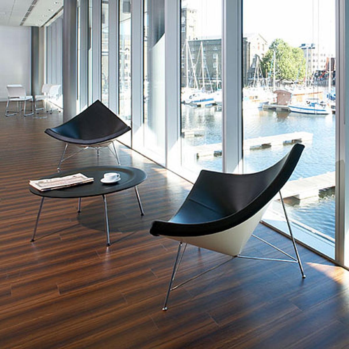 Vitra coconut chair material hopsak black