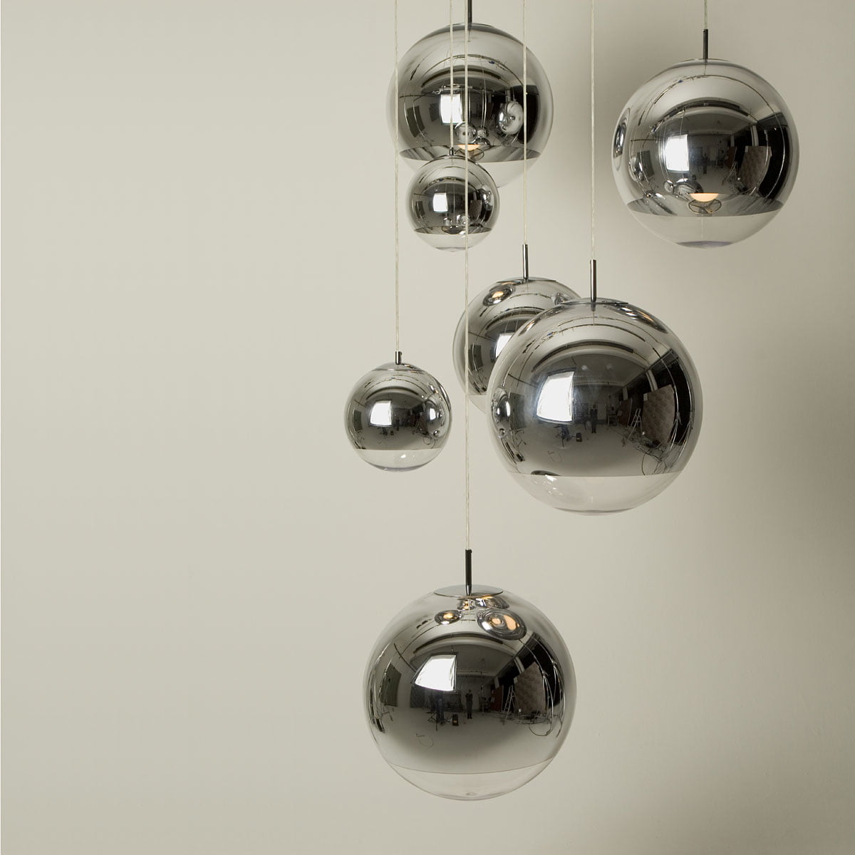 Mirror ball pendant lamp by tom dixon tom dixon the company mozeypictures Choice Image