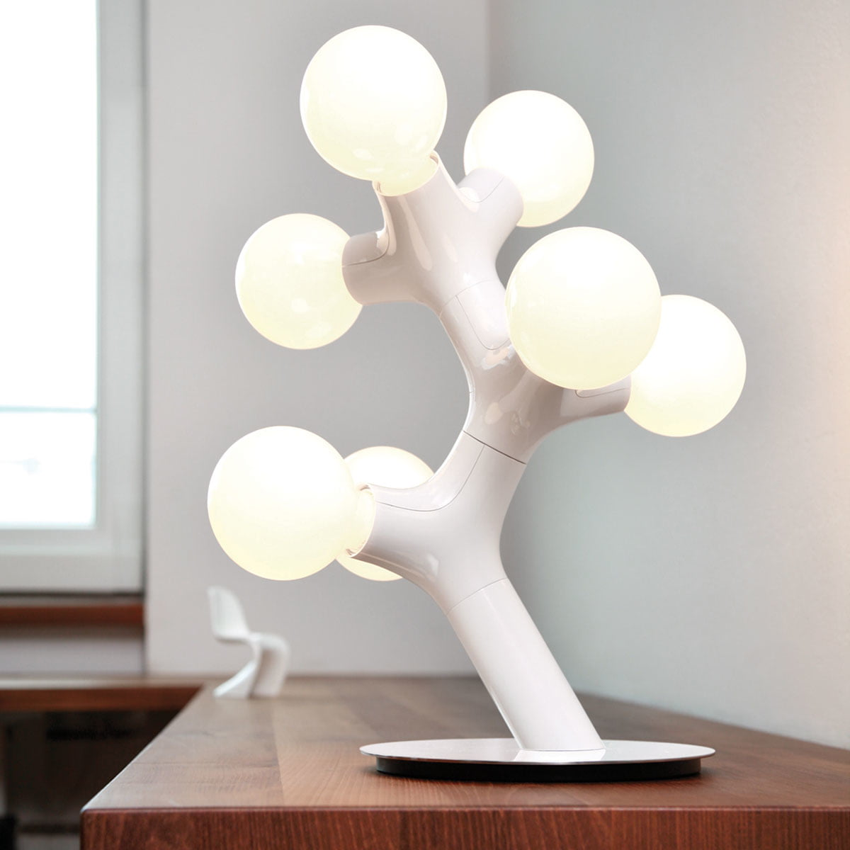 Dna table lamp by next home in the shop next dna tischleuchte wei aloadofball Images