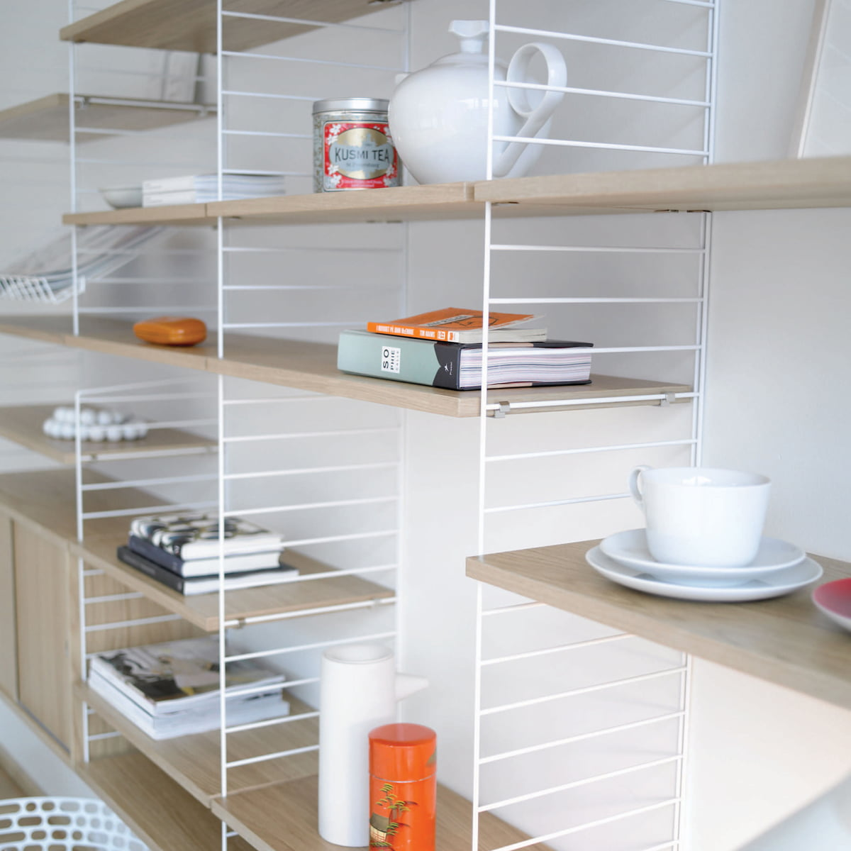 String Regal 20 cm string shelf system connox