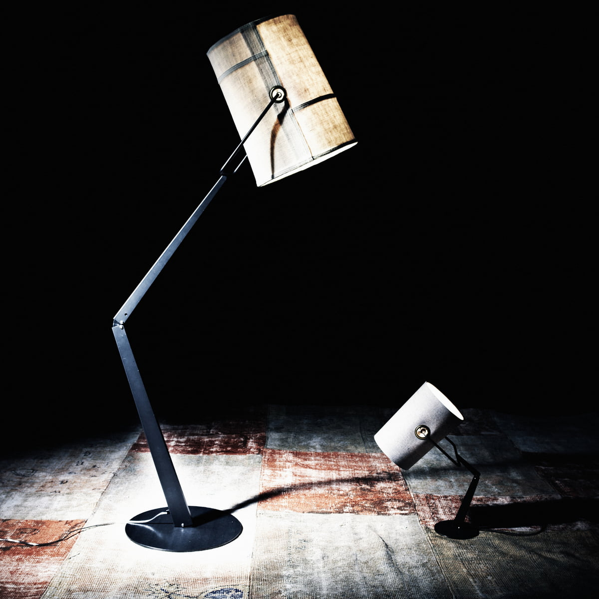 Fork floor lamp by diesel living in the shop diesel living fork floor lamp ivory mozeypictures Choice Image