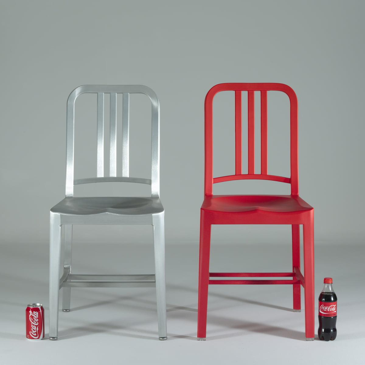 111 navy coca-cola chair | emeco | shop