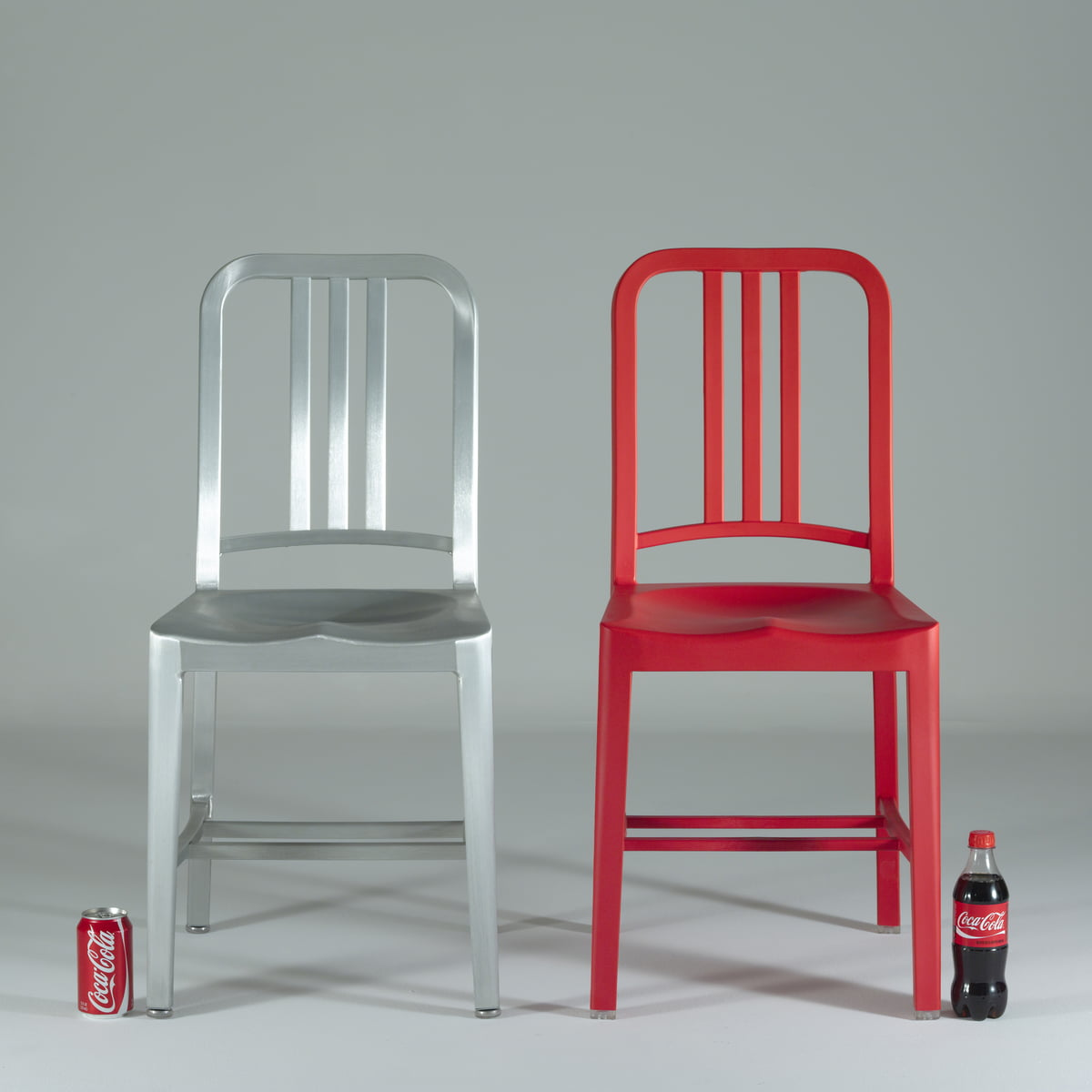 Charmant Emeco   111 Navy Coca Cola Chair