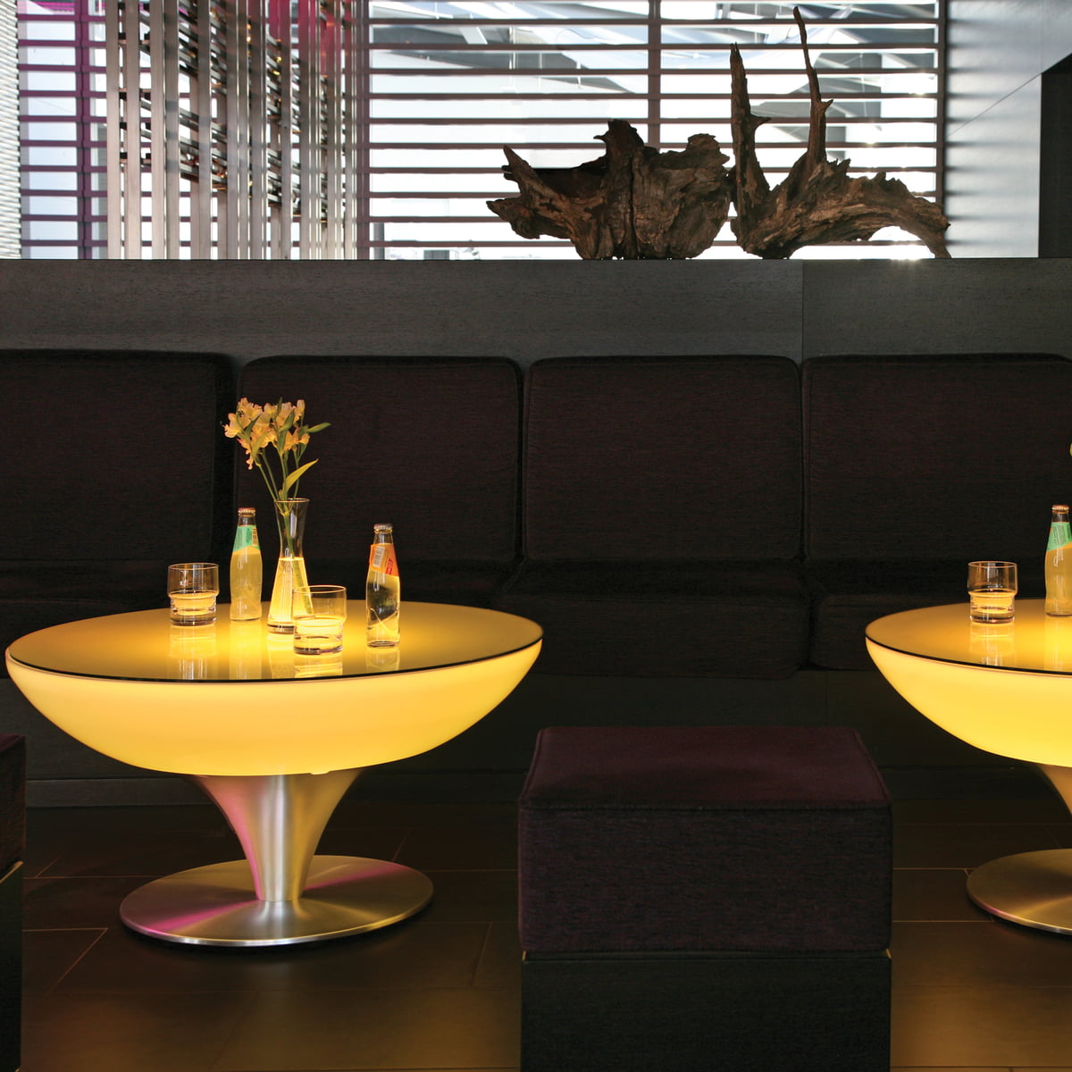 Moree lounge table 45 led shop for Lounge tisch design