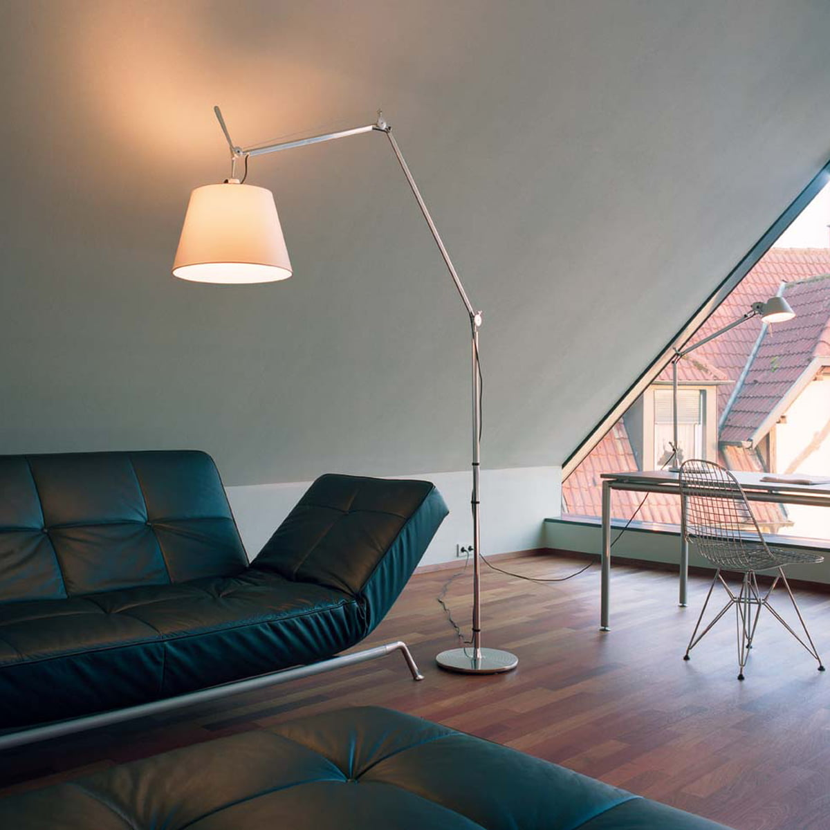 Tolomeo Mega Terra floor lamp by Artemide