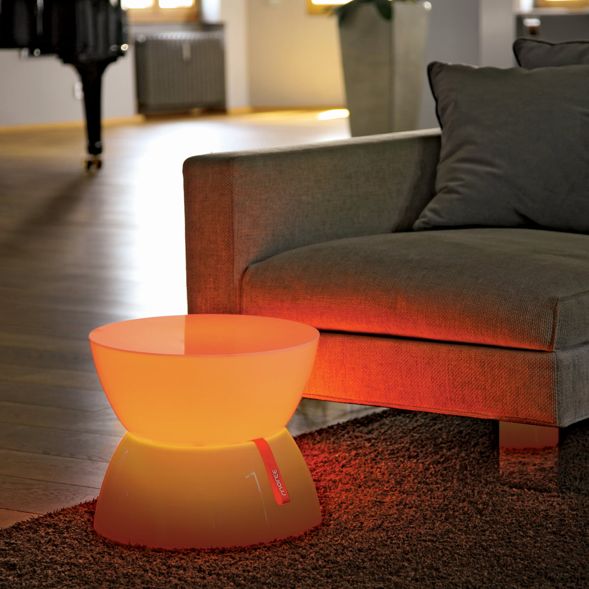 lounge table mini led by moree in the shop. Black Bedroom Furniture Sets. Home Design Ideas