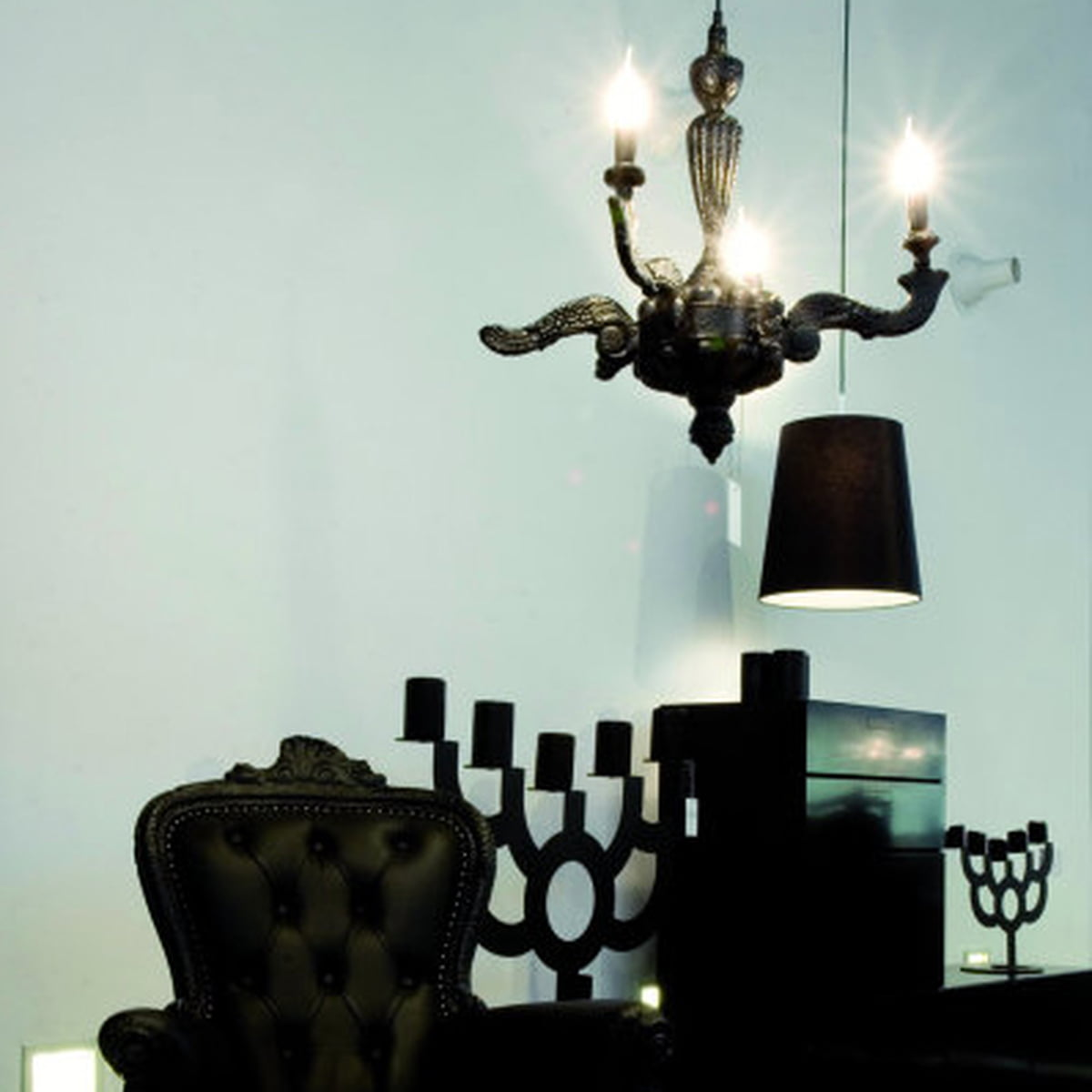 Smoke chandelier moooi shop moooi smoke chandelier pendant light aloadofball Image collections