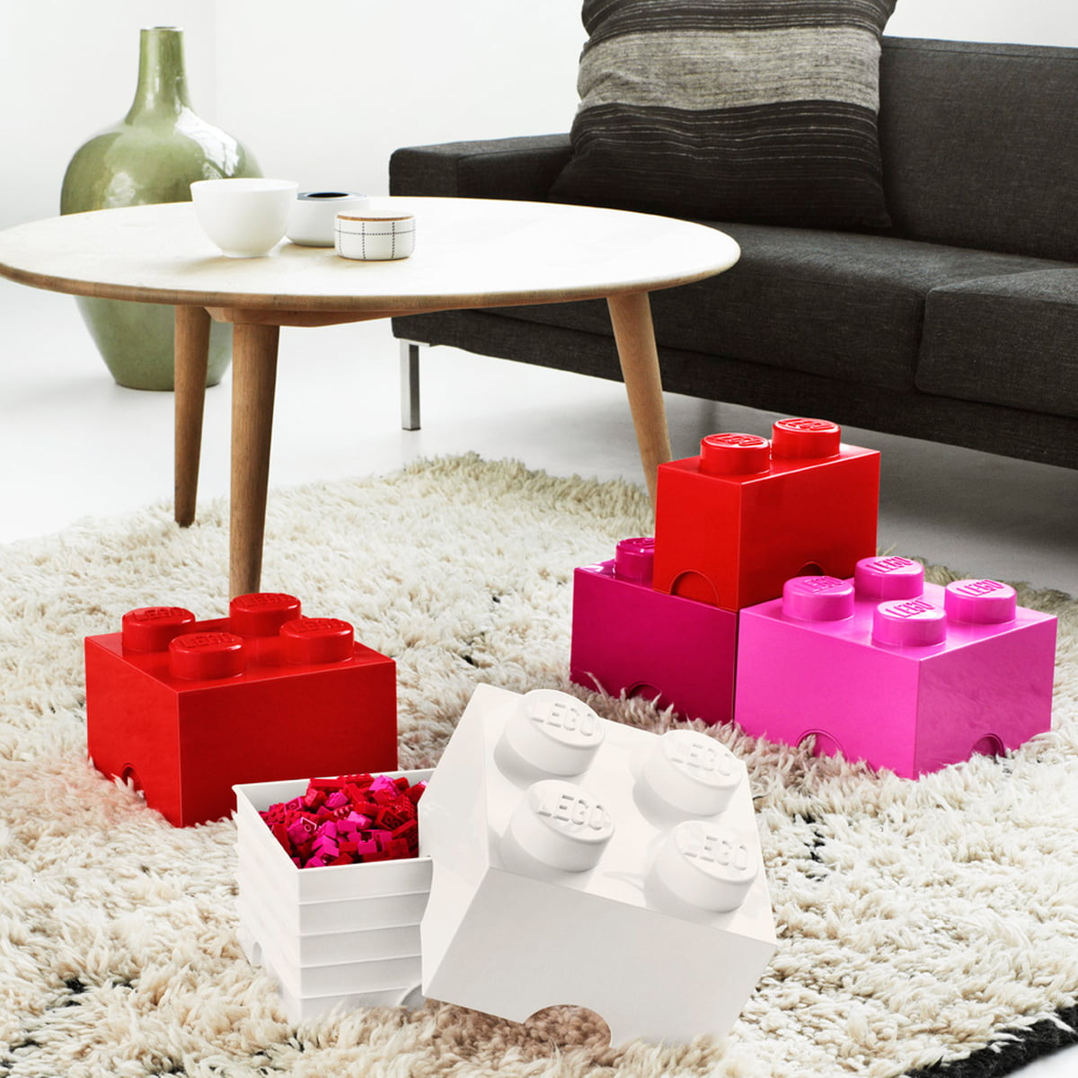 Lego   Storage Box, Red