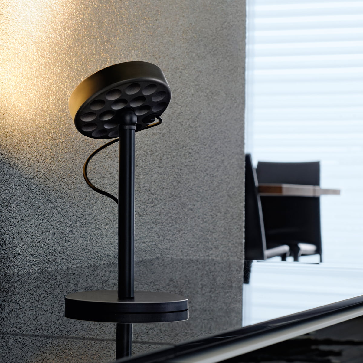 Belux u turn led table lamp in our interior design shop for Topdeq design