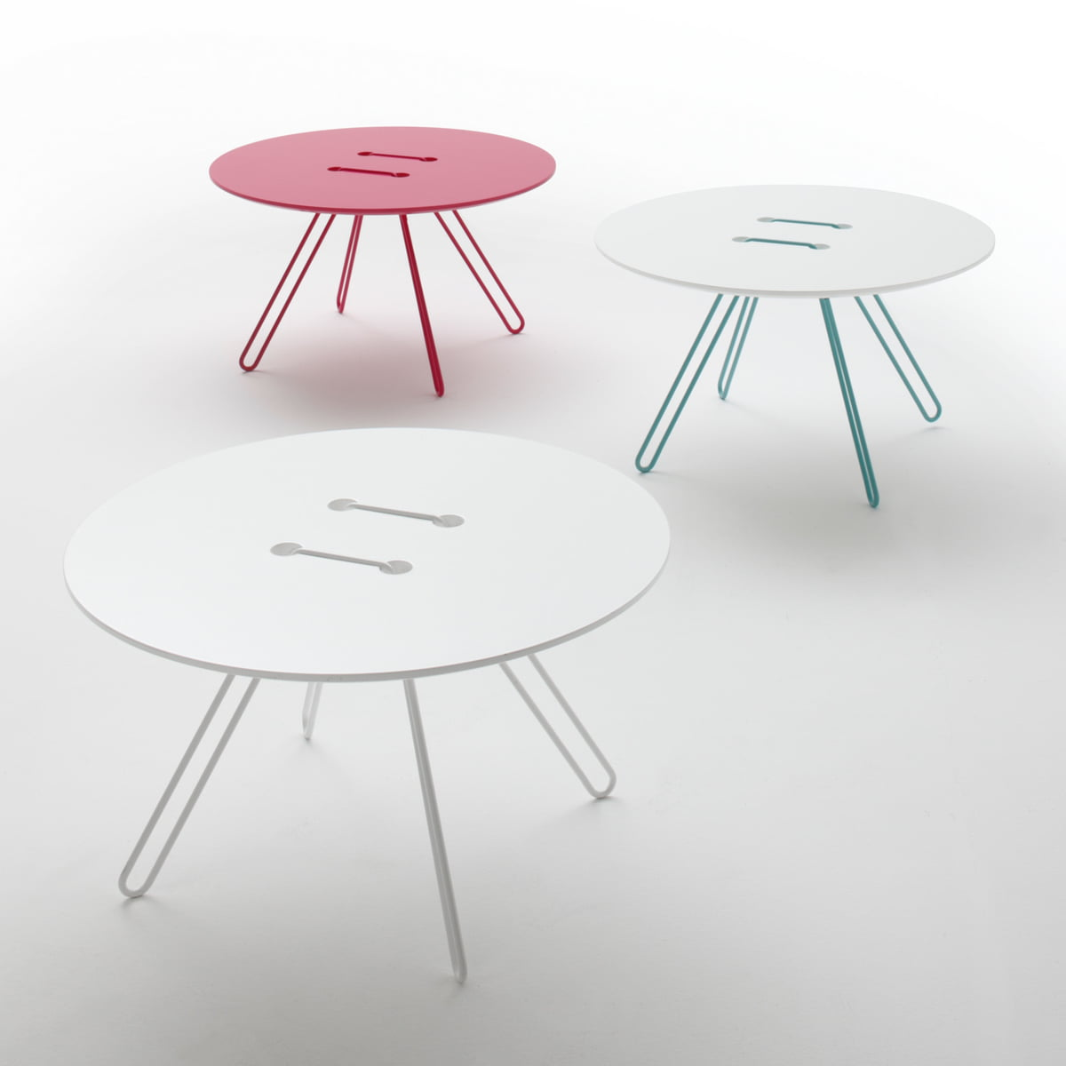 Captivating Casamania   Twine Side Table Ø 50 Cm, White Amazing Ideas