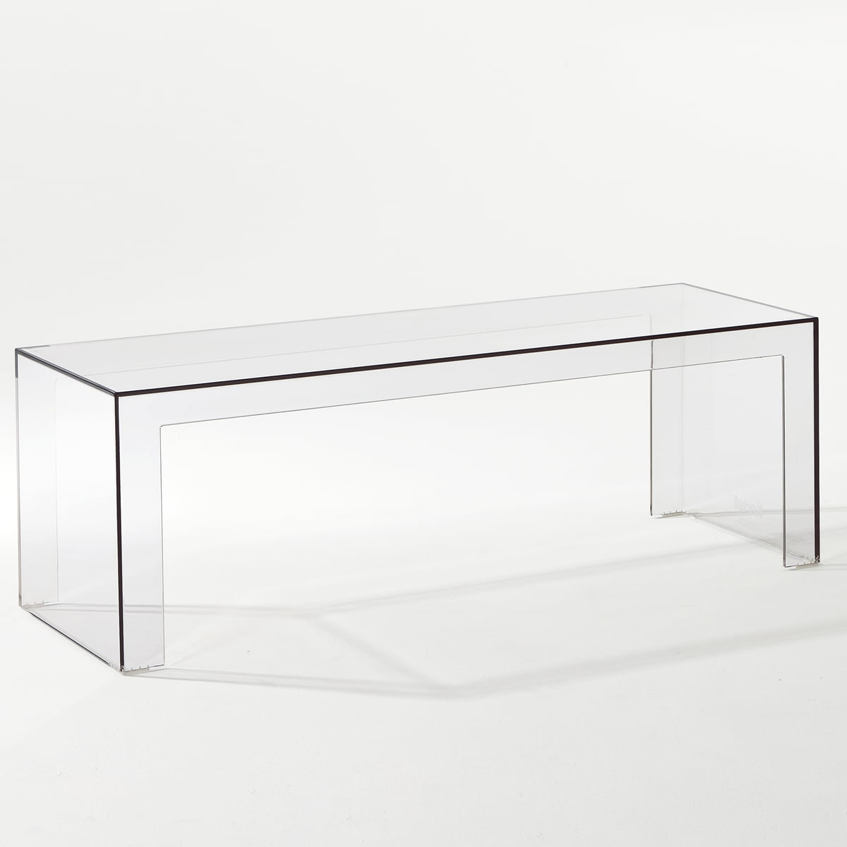 Invisible Side Kartell Shop - Invisible coffee table