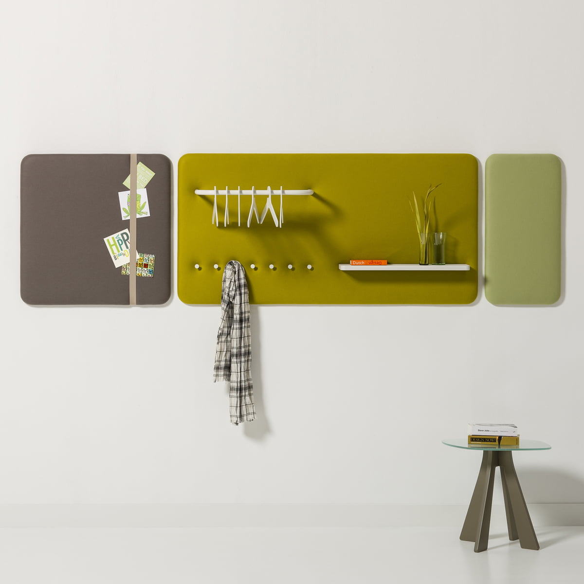 The Pillow Panel with tray 6014 by Cascando