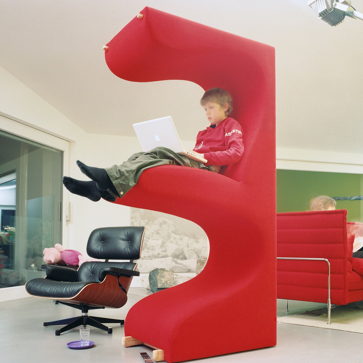 the living tower by vitra in the home design shop