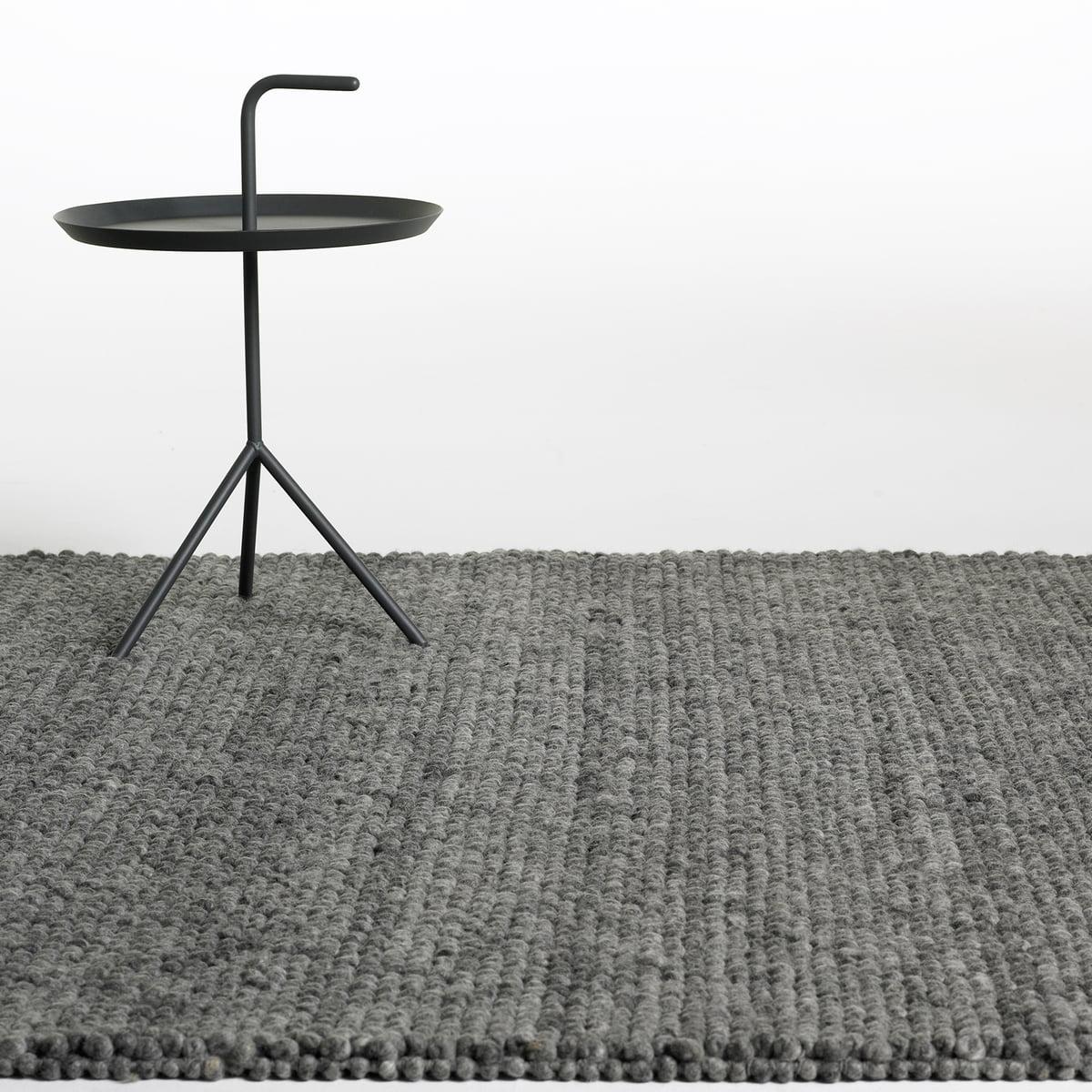 Hay   Peas Carpet, Dark Grey