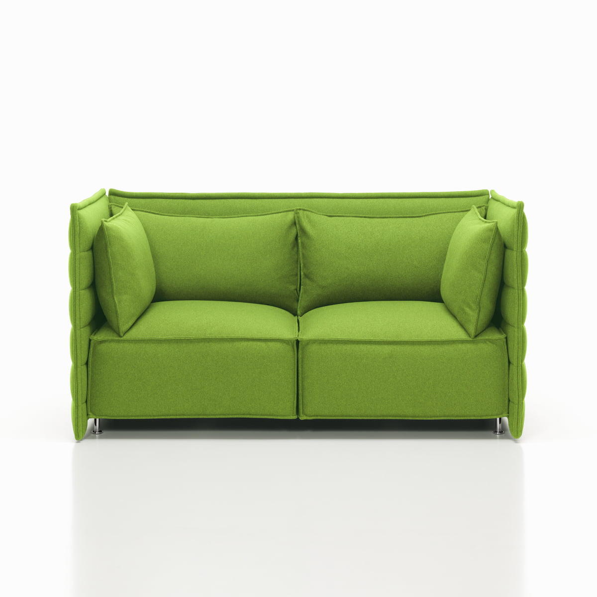 Alcove plume sofa by vitra in the shop for Sofa 2 sitzer