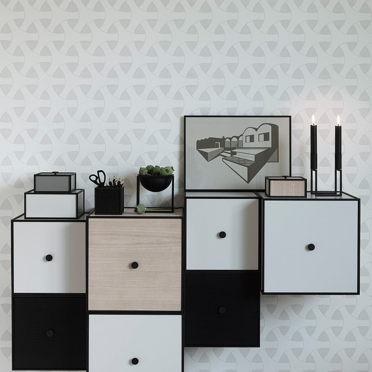 Frame Wall Cabinet 42 By Lassen