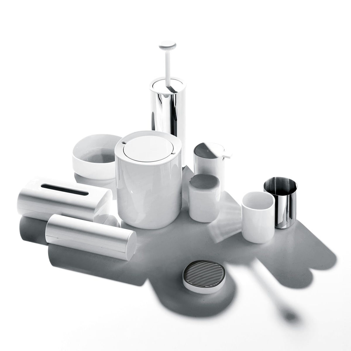 The Birillo Toilet Roll Holder PL18 by Alessi