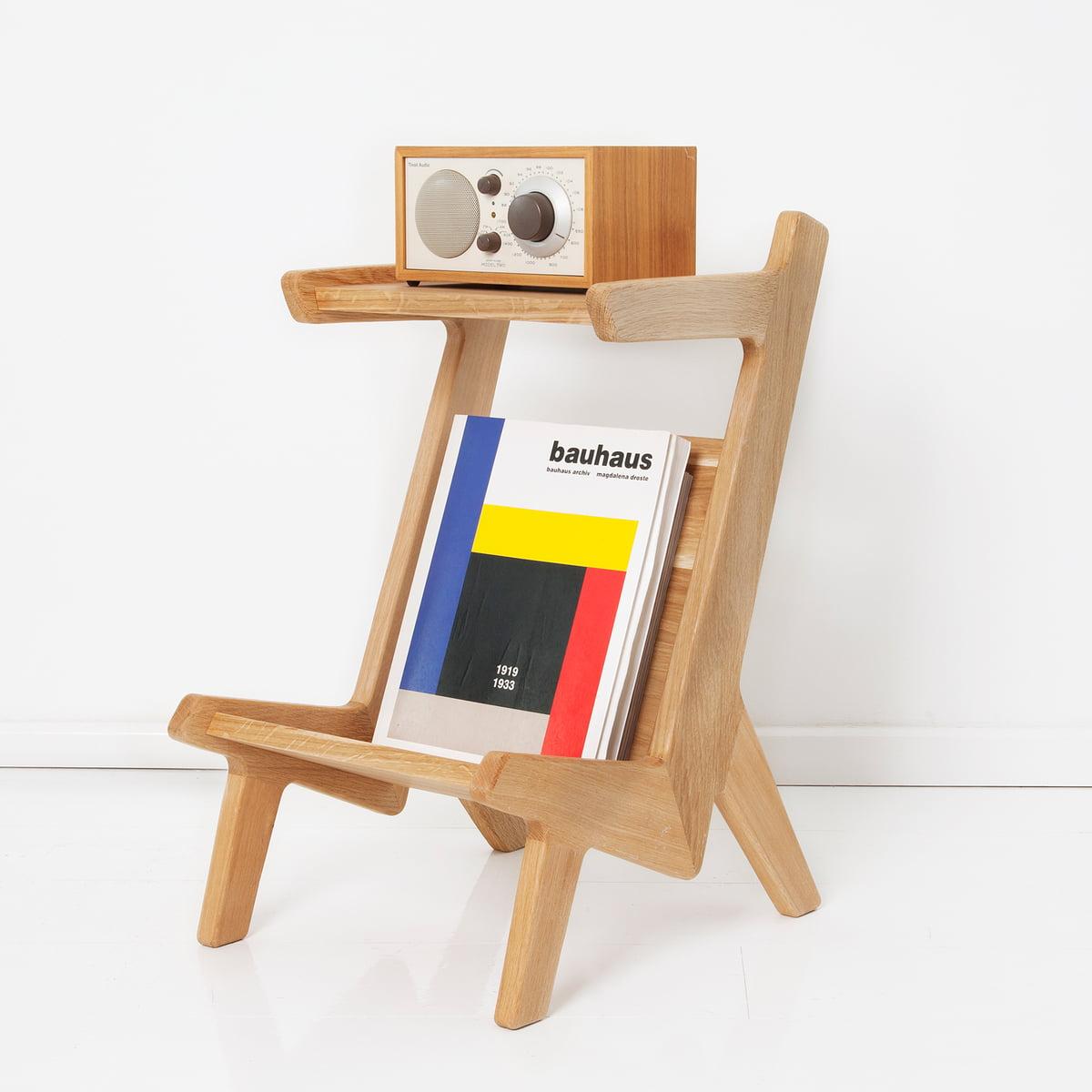 The Hansen Family Tivoli Remix Sound Coffee Table Oak Wood