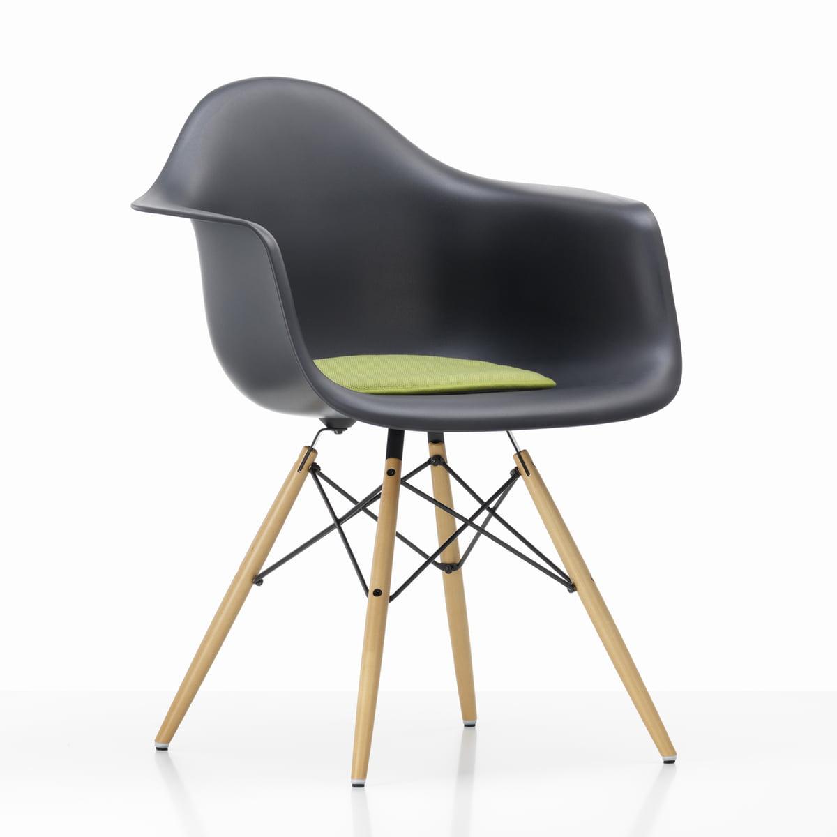 Vitra   Seat Dots, Green / Pastel Green   Plastic Arm Chair