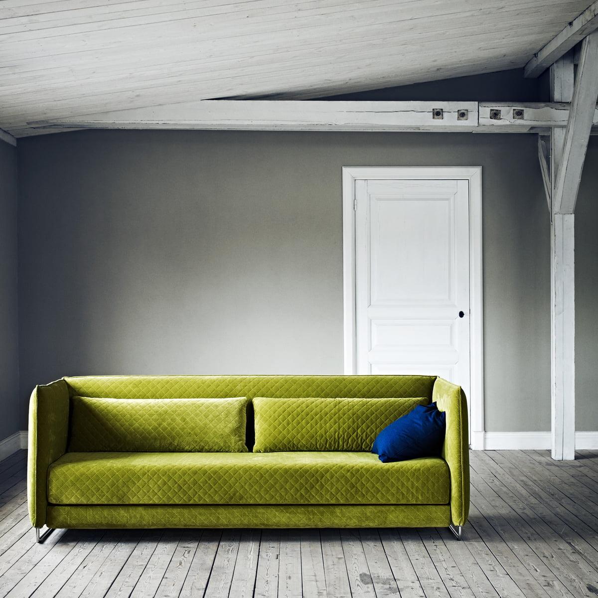 Softline   Metro Bed Sofa, Green