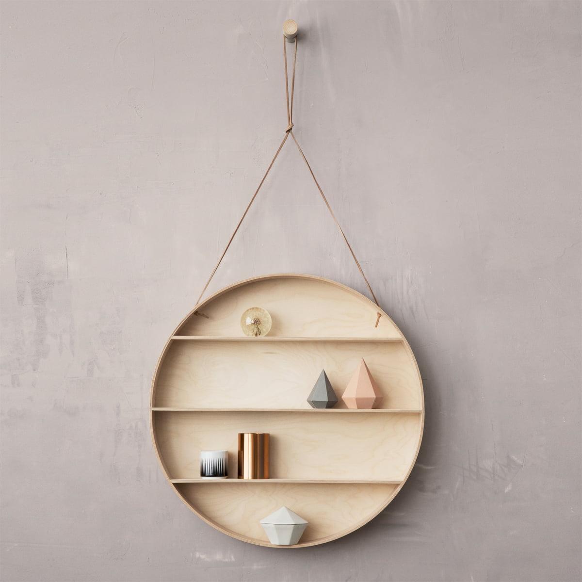 Perfect Ferm Living   The Round Dorm, Hanging Shelf