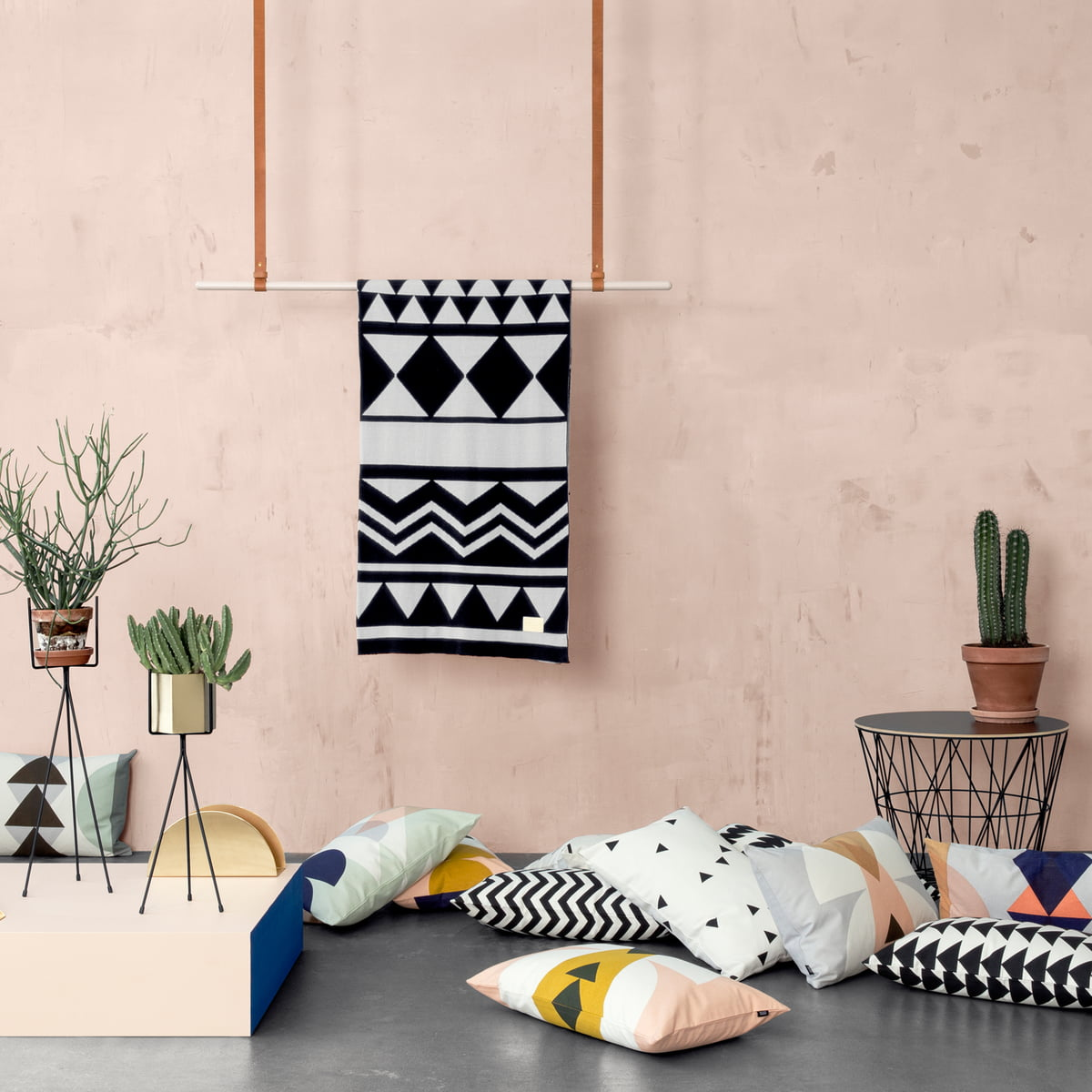 Coordinated products by ferm LivingWire Basket Top Small by ferm Living. Ferm Living Basket Uk. Home Design Ideas