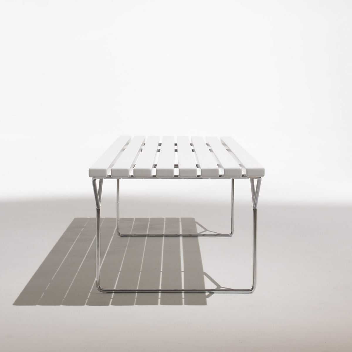 The Bertoia Outdoor Bench By Knoll - Bertoia coffee table