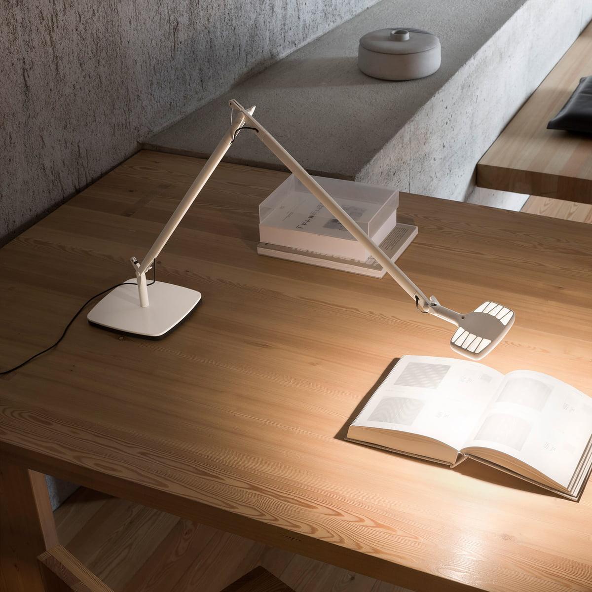 The otto watt desk lamp from luceplan luceplan otto watt desk light white mozeypictures Choice Image