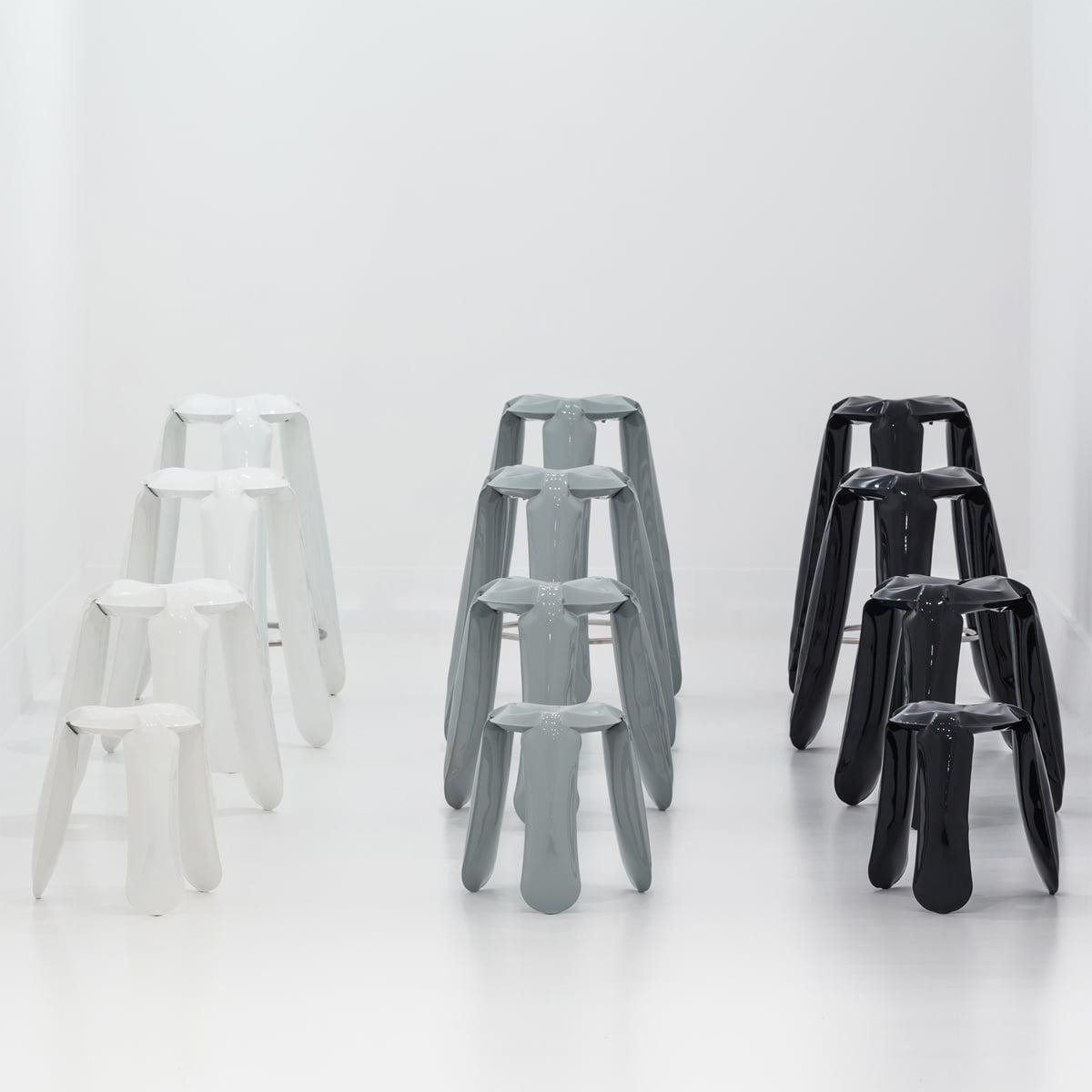 Admirable Zieta Plopp Bar Stool Black Inzonedesignstudio Interior Chair Design Inzonedesignstudiocom