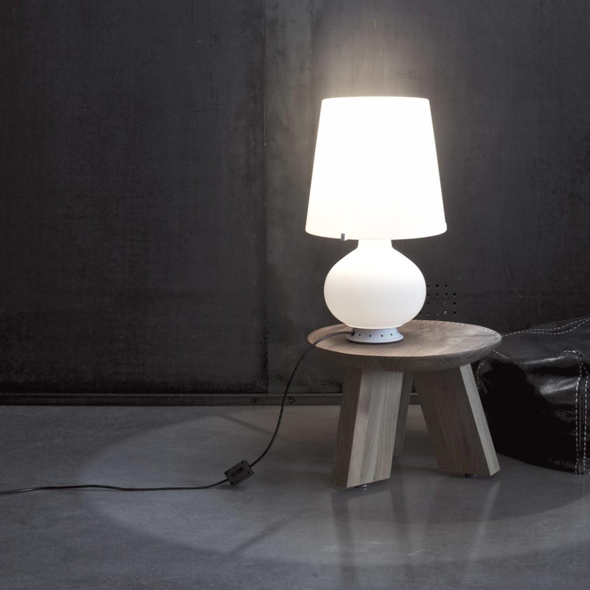 Fontanaarte fontana table lamp white