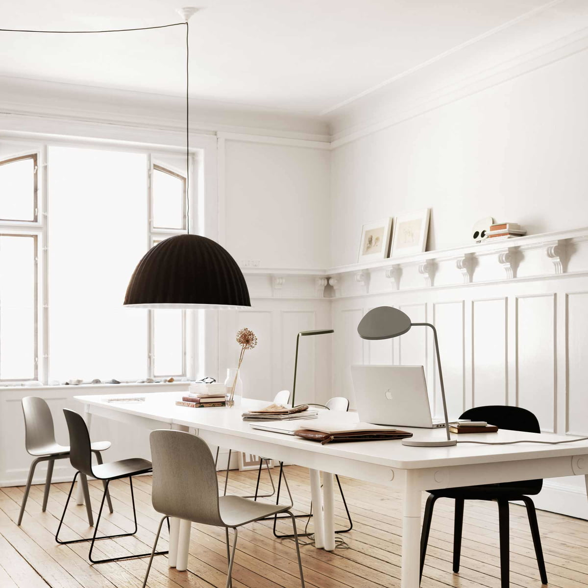 under the bell pendant lamp muuto shop. Black Bedroom Furniture Sets. Home Design Ideas