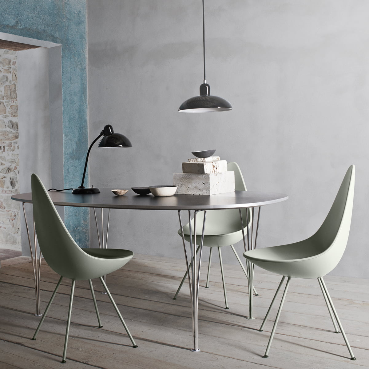 hansen lighting services. fritz hansen - drop chair lighting services i